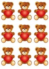 Вафельная картинка A4 День святого Валентина №35