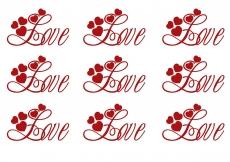 Вафельная картинка A4 День святого Валентина №36