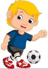Вафельная картинка A4 Футбол №05