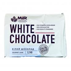 Белый шоколад в плитке 26% 1.2 кг Украина