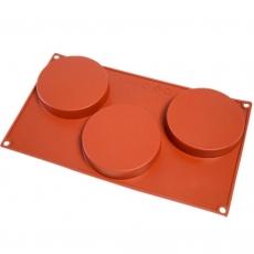 Силиконовая форма Круги плоские (тарты) 10 см