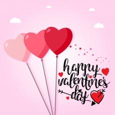 Вафельная картинка A4 День святого Валентина №25