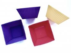 Силиконовая форма Cake&Pie Кекс порционный квадратный 6х4,5х3,6 см