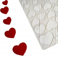 Трафарет для шоколада Сердце №1