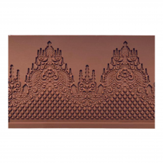 Коврик силиконовый для айсинга Королевский узор