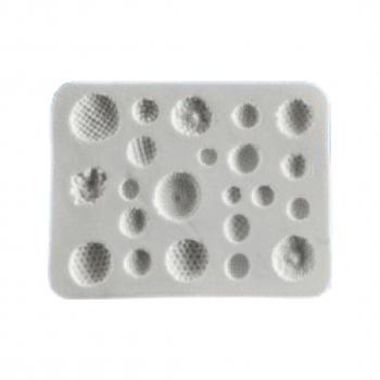 Силиконовый молд Серединки цветов 7.5.х7.5 см
