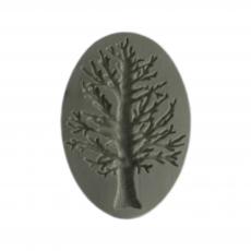Силиконовый молд Дерево 6x9 см