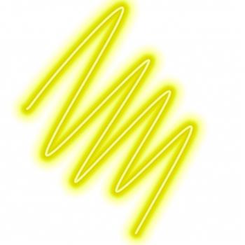 Пищевой неоновый порошок лимонный 2 гр развес Германия