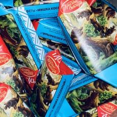 Шоколадные конфеты Мишка косолапый +/-100 гр (развес)
