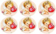 Вафельная картинка A4 День святого Валентина №30