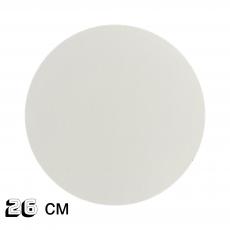 Подложка под торт белая ДВП 26 см 3 мм