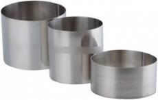 Набор металлических каттеров 3 шт