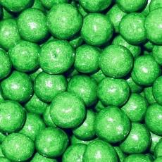Драже Зеленые глянцевые 10 мм 100 гр