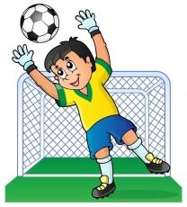 Вафельная картинка A4 Футбол №03
