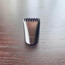 Насадка с зубчиками №7058 2х4х2.5 см