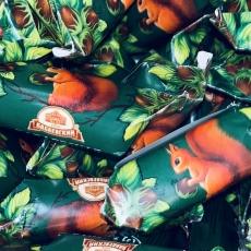 Шоколадные конфеты Белочка +/-100 гр (развес)