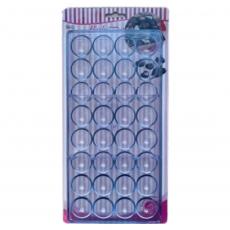 Форма для конфет Полусферы большие 27.5x13.5x2.4 см