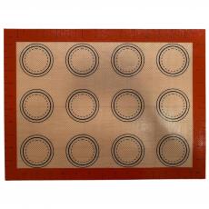 Силиконовый коврик со стекловолокном для Макаронс 1 42х29 см