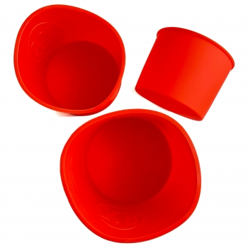 Набор силиконовых форм для Пасок Высокие 3 шт 10, 12.5, 14.8 см