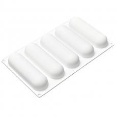 Силиконовая форма для десертов Эклер 15х5 см