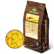 Белый шоколад лимонный 250 гр Италия развес