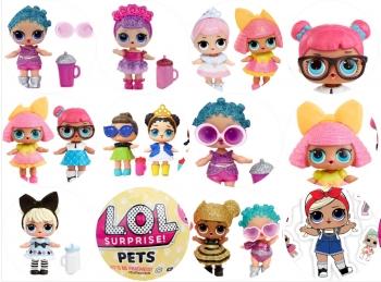Вафельная картинка A4 Куклы LOL 6