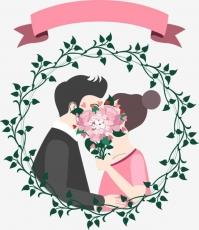 Вафельная картинка A4 Любовь 2021 №15