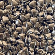 Декоративные сердечки серебро 100 гр