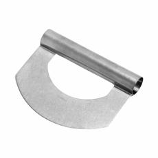 Шпатель-резак кондитерский металлический вогнутый 15 см