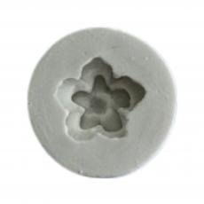 Силиконовый молд Маленький цветочек №2 2.5х2.5 см