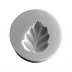 Силиконовый молд Листик №5 3х3 см
