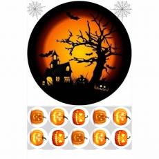 Вафельная картинка A4 Хэллоуин 9