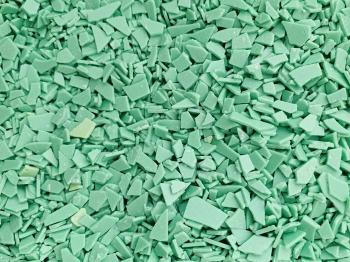 Осколки шоколадные зеленые 500 гр