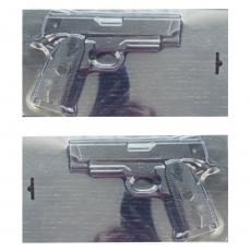 Пластиковая форма для шоколада Пистолет 3D