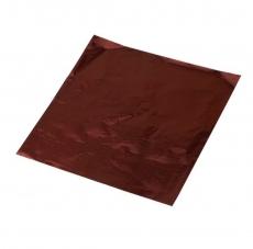 Фольга для конфет 8x8 см Коричневая 100 шт