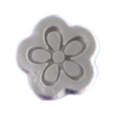 Силиконовый молд Маленький цветочек 3.2х3.2 см