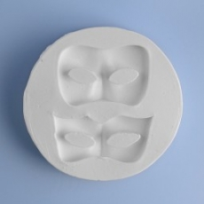 Силиконовый молд Набор масок 7.5х7.5 см
