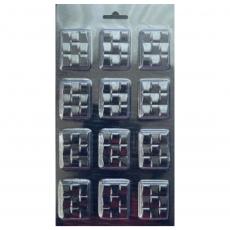 Пластиковая форма для шоколада маленькие плитки клавиши