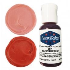 Гелевый краситель Americolor Красный электрик (Electric Red) 21 гр