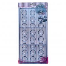 Форма для конфет Полусферы средние 27.5x13.5x2.4 см