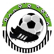 Вафельная картинка A4 Футбол №01