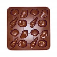 Силиконовая форма для шоколада Ракушки