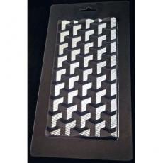 Пластиковая форма для шоколада Cake&Pie Геометрия 120х230 мм
