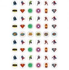 Бумага для меренги Супергерои