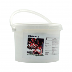Мастика Bakels белая для лепки цветов Швеция 1 кг развес
