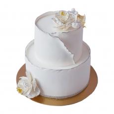 Мастика Цветочная белая 1 кг развес