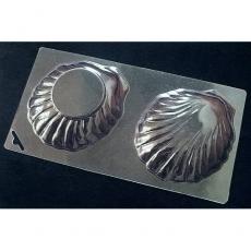 Пластиковая форма для шоколада Cake&Pie Ракушка 120х230 мм