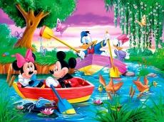 Вафельная картинка A4 Дисней Микки Маус