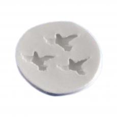 Силиконовый молд набор птичек 6