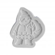 Силиконовый молд Санта Клаус №4 8х9 см